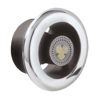 MANROSE LEDSLCFDTCN SLKTC Shower Fan and LED light Kit